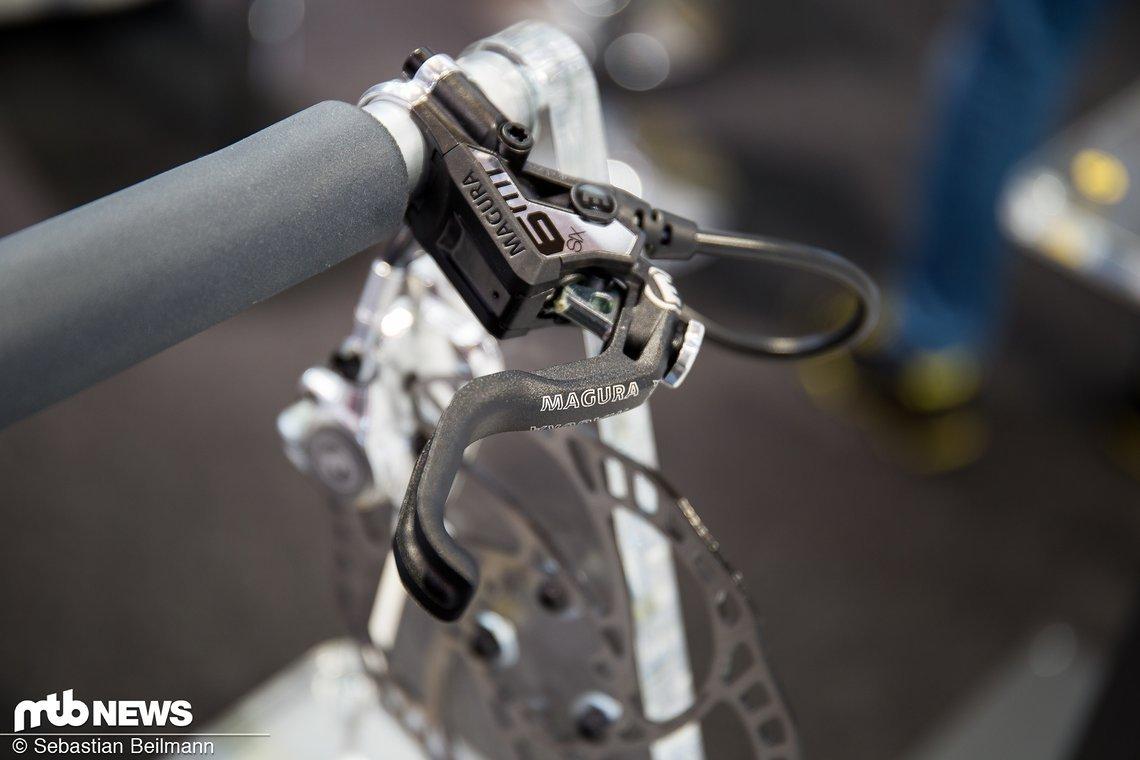 Der neue Standard an MT7 und MT6: Der Einfinger-Bremshebel