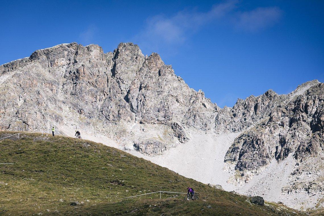 Allein schon wegen der Bergkulisse lohnt sich ein Abstecher ins Engadin