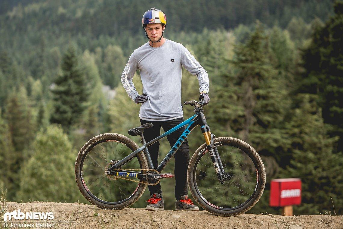 Matt Jones startet in diesem Jahr für Marin Bikes
