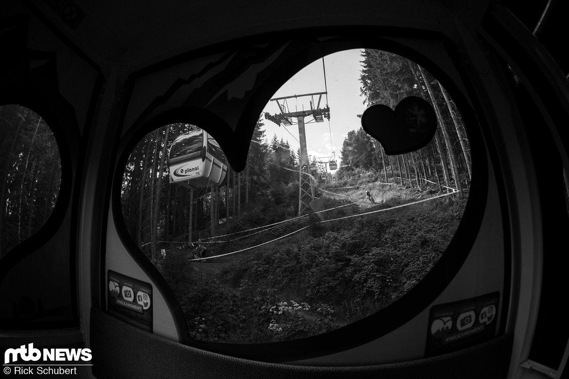 Ein großes Herz für den Downhill Sport und Schladming