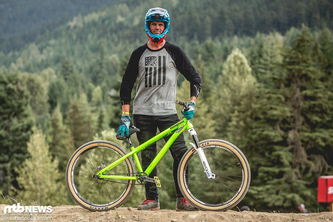 Josh Hult kommt ebenfalls aus dem BMX-Bereich