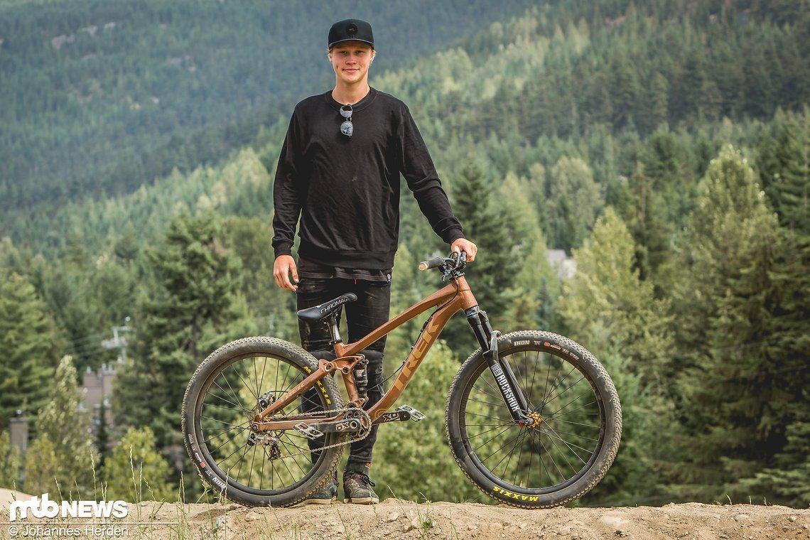 Emil Johansson erlebte letztes Jahr in Whistler seinen großen Durchbruch