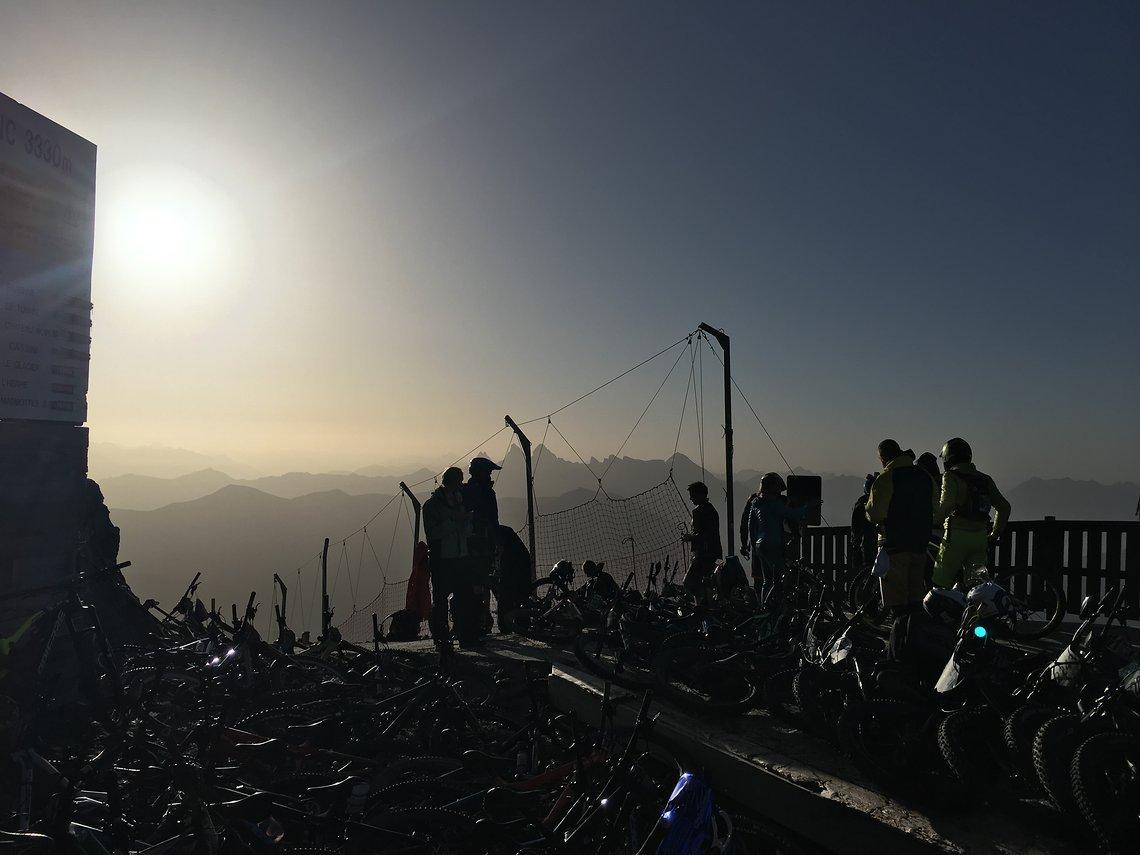 9 Morgenstimmung Pic Blanc