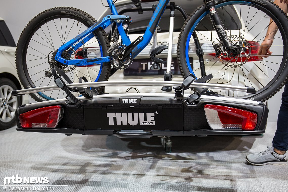 eurobike 2017 thule neuheiten upride und velospace xt. Black Bedroom Furniture Sets. Home Design Ideas