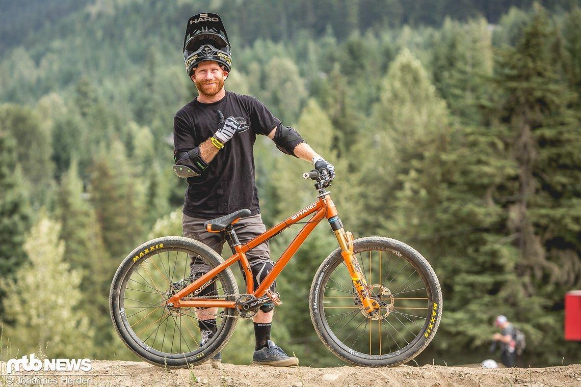 Ryan Nyquist kommt ursprünglich aus dem BMX