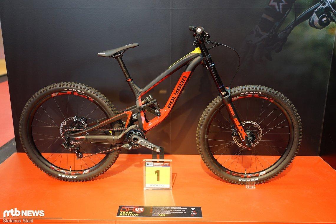 Weltcup-Sieger-Bike