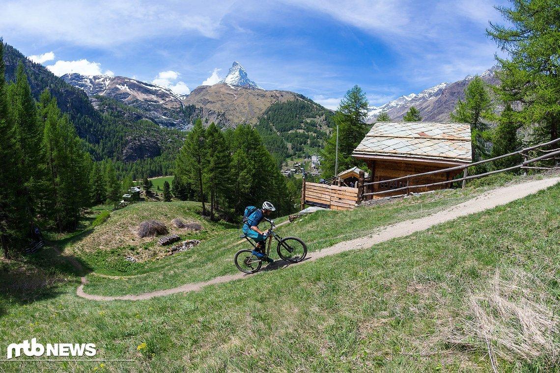 Bergauf macht das BMC Speedfox 2018 eine sehr gute Figur