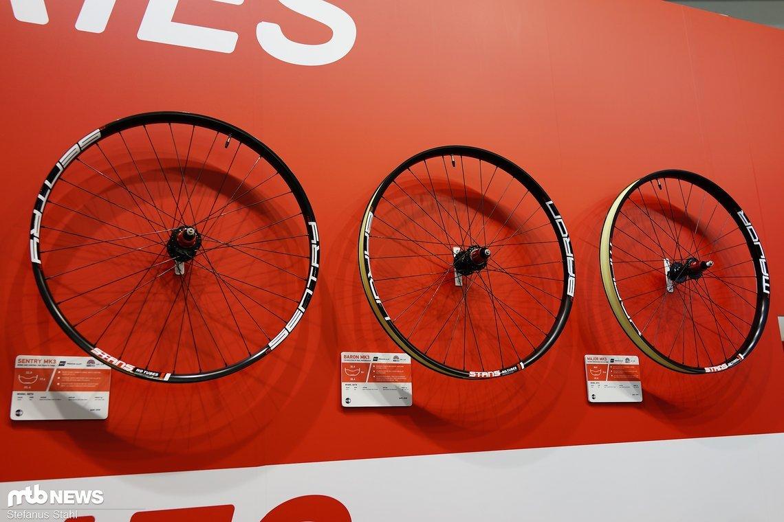 Die komplett neue Kollektion Alu-LRS für Plus-Biker