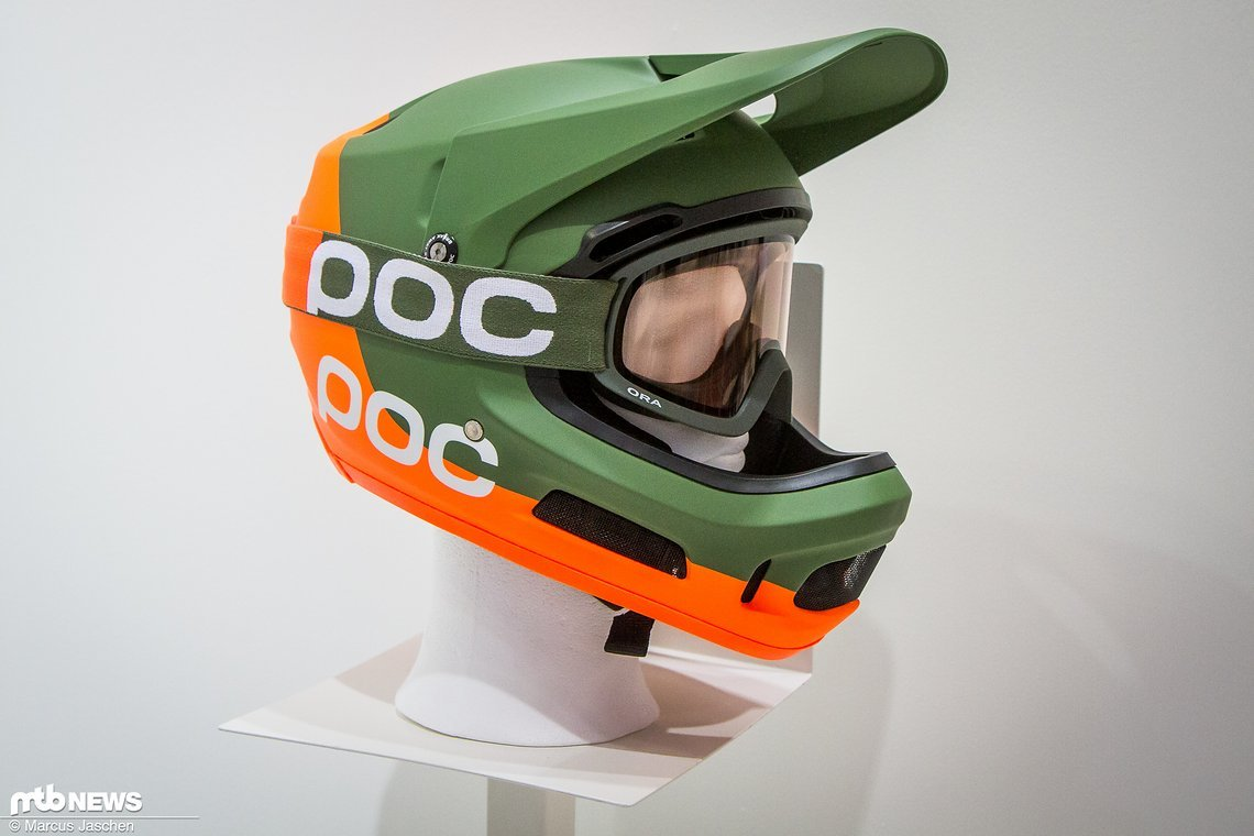 Der neue POC Coron Air Spin Fullface-Helm