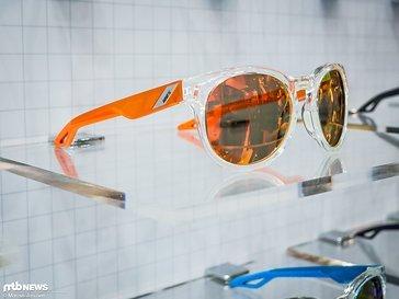 """Campo """"Polished Crystal Clear"""" mit orange verspiegelten Gläsern"""