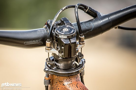 Der Trek Ticket S-Rahmen von Emil Johansson hat eine spezielle Vorrichtung für die Montage des Gyros, der eigentlich aus dem BMX-Bereich stammt.