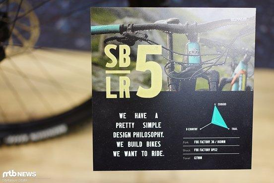Abgesehen vom Fahrwerk unterscheidet sich das LR nicht vom gewöhnlichen SB5