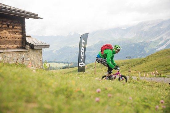 Im Downhill mit dem Kinderbike trennt sich die Spreu vom Weizen
