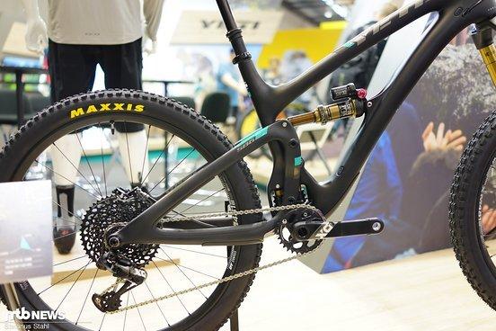 Die gezeigte X01-Eagle-Ausstattung ist in Deutschland erhältlich