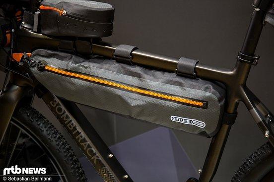Das Ortlieb Frame-Pack Toptube kostet 99,99 €, wiegt 170 g und bietet 4 l Volumen