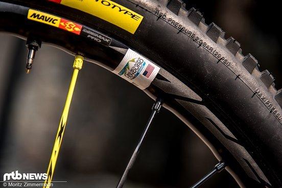Mit den Mavic Deemax Pro-Laufrädern hat Ines bislang extrem gute Erfahrungen gemacht