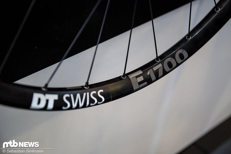 Der DT Swiss E1700 Spline Laufradsatz