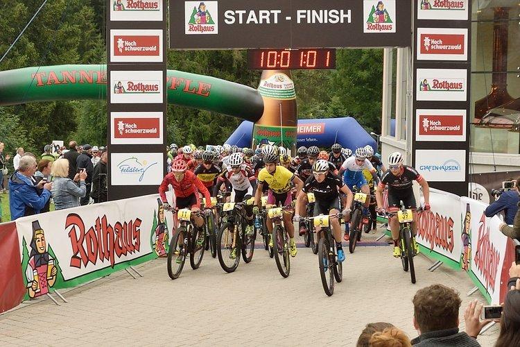Kurz nach 10 Uhr fiel der Startschuss zur zweiten Etappe