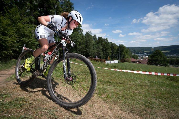 Anne Terpstra siegte, wie in Gedern, souverän.