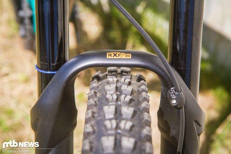 46 mm Offset und passende Tauchrohre für die neue RFX36 27.5